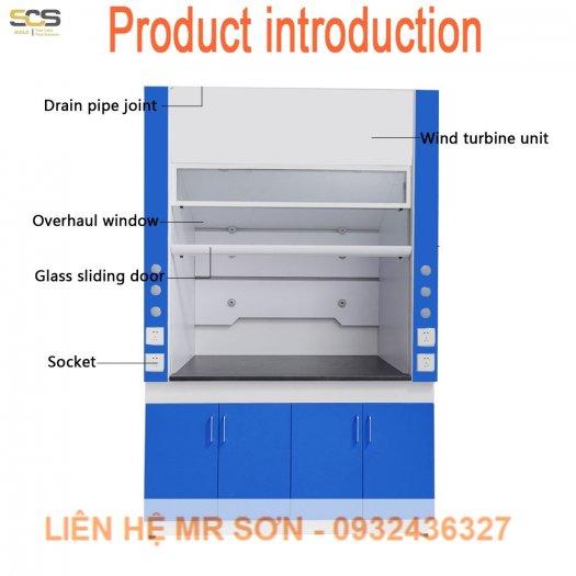 Tủ hút khí độc kích thước 900MM6