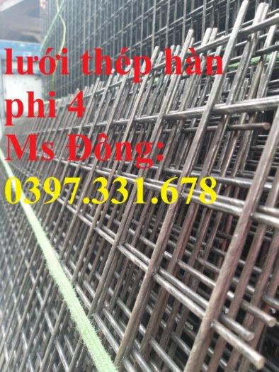 Lưới thép hàn phi 4 ô 30x30mm giá tốt tại Hà Nội0