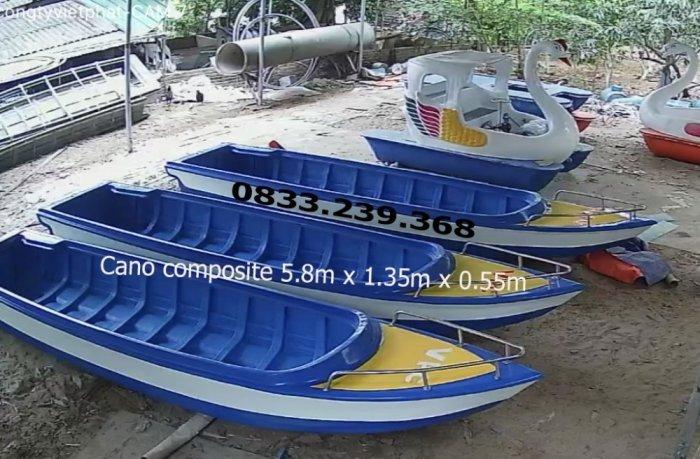 Cano composite 10 người, 1400kg2
