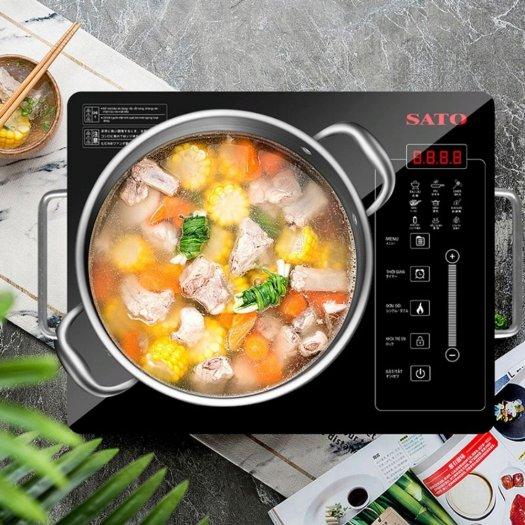 Bếp hồng ngoại đơn SatoHN012I3