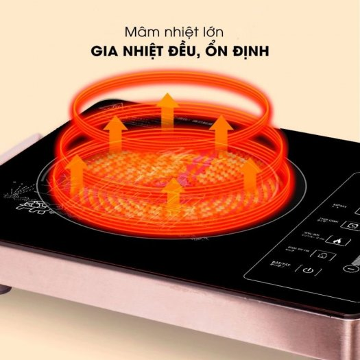 Bếp hồng ngoại đơn SatoHN012I6