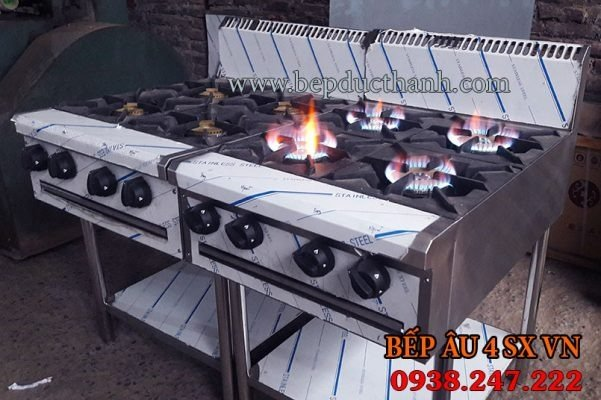 Bếp âu 4 họng sản xuất1