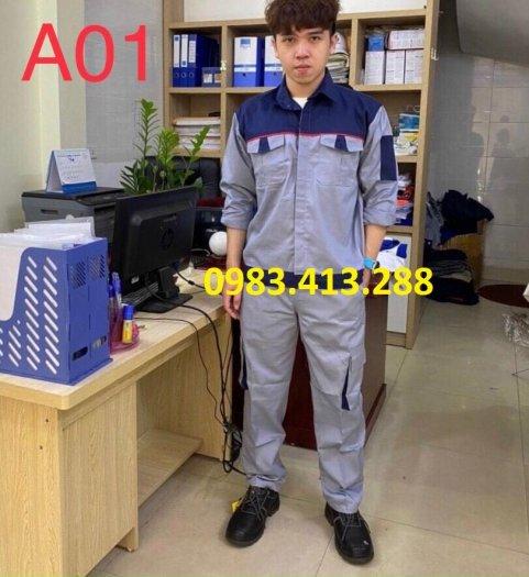 Đồng phục bảo hộ lao động BA232