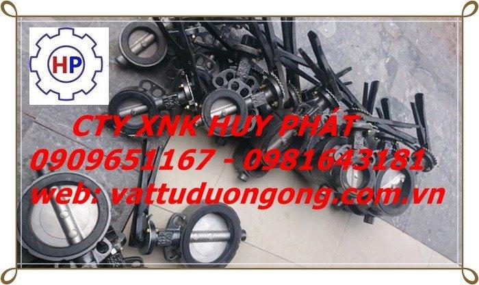 VAN BƯỚM TAY GẠT SAMWOO HÀN QUỐC, DN100 ( phi 114)2
