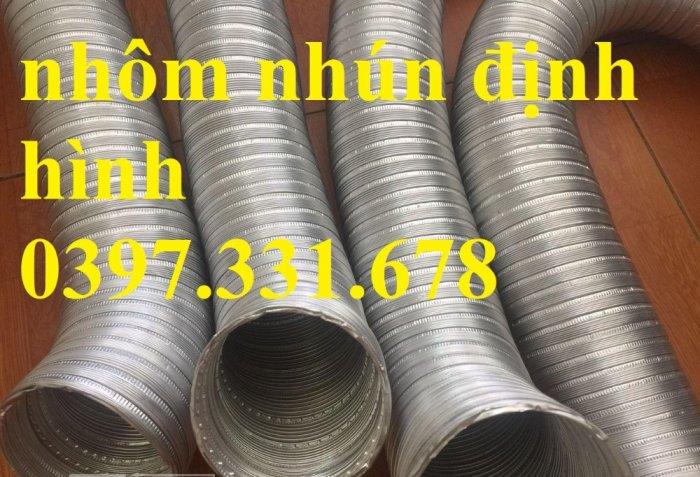Ống nhôm nhún chịu nhiệt phi 100, 125, 150, 200... giá rẻ tại Bắc Ninh1