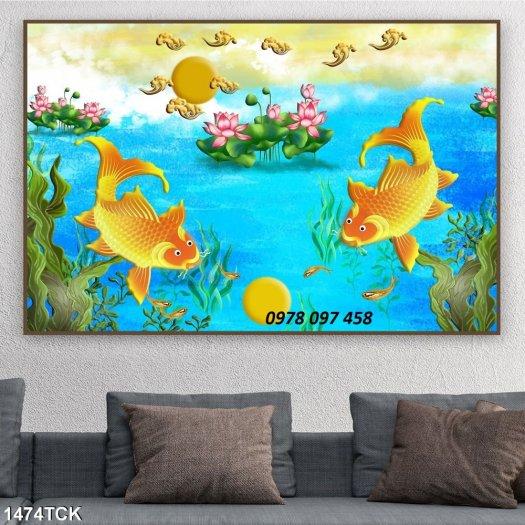 Tranh đẹp 3D ốp tường3