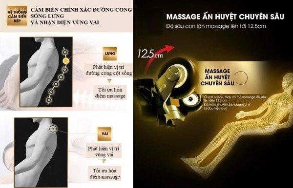 Ghế massage hạng thương gia Kiwami 4D-9700