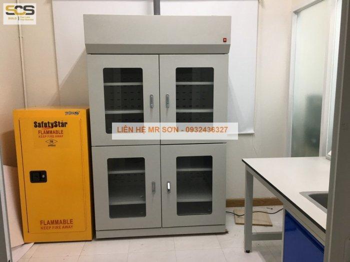 Giá tủ đựng hóa chất có lọc hấp thu kích thước 900mm7