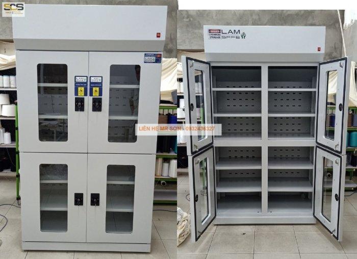 Giá tủ đựng hóa chất có lọc hấp thu kích thước 900mm4