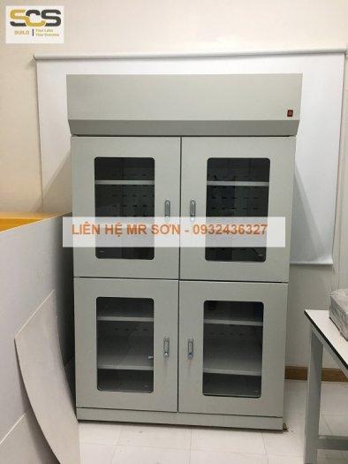 Giá tủ đựng hóa chất có lọc hấp thu kích thước 900mm1