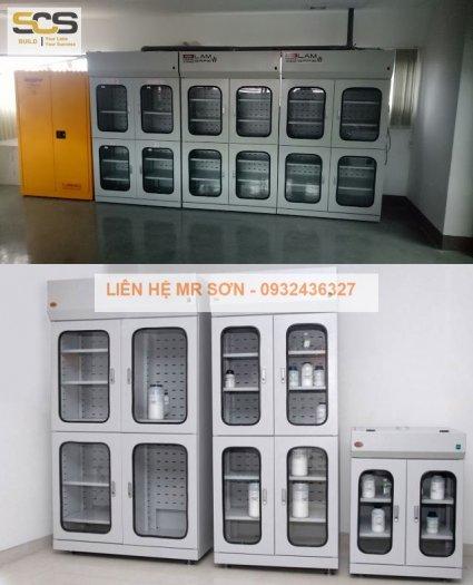 Tủ chứa hóa chất phòng thí nghiệm7