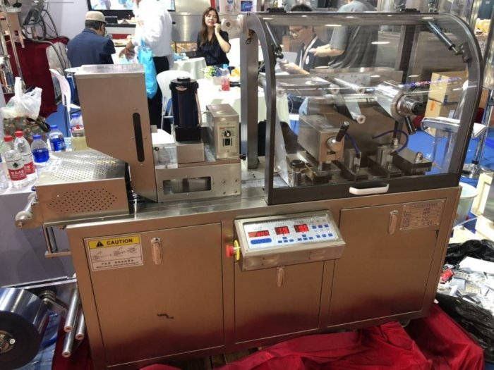 Máy đóng gói vỉ viên nang, máy dập vỉ tự động DPP-802