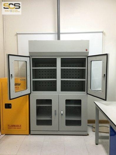 Tủ đựng hóa chất có lọc hấp thu hóa chất kích thước 900mm1