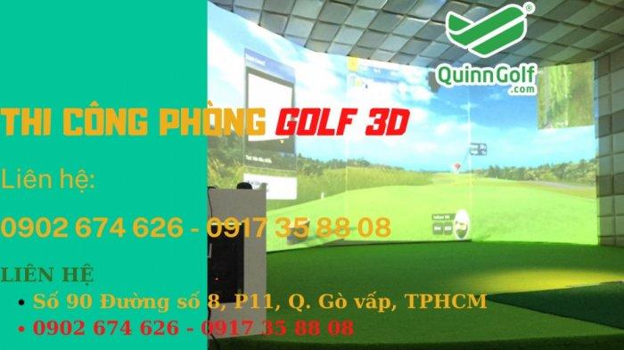 Phòng Golf 3D nhập khẩu Hàn Quốc1