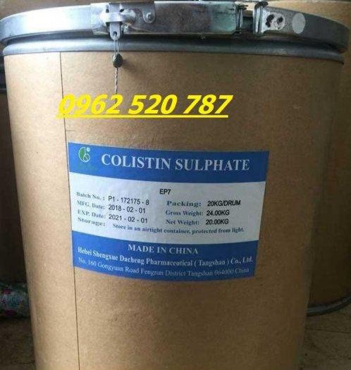 Kháng sinh thủy sản Colistin sulphate0