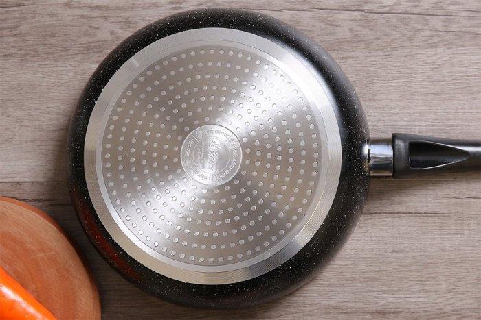 Chảo nhôm chống dính vân đá đáy từ sz261
