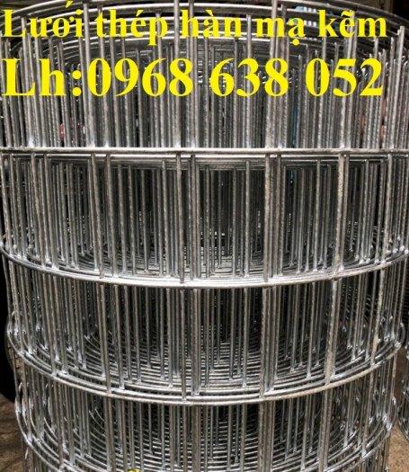 Lưới mạ kẽm hàn ô vuông 50x50 dây 2mm khổ 1mx30m và 1.2mx30m hàng có sẵn12