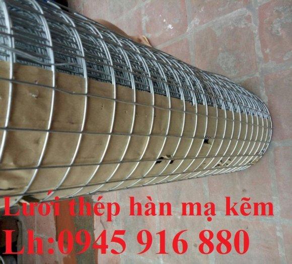 Lưới mạ kẽm hàn ô vuông 50x50 dây 2mm khổ 1mx30m và 1.2mx30m hàng có sẵn9
