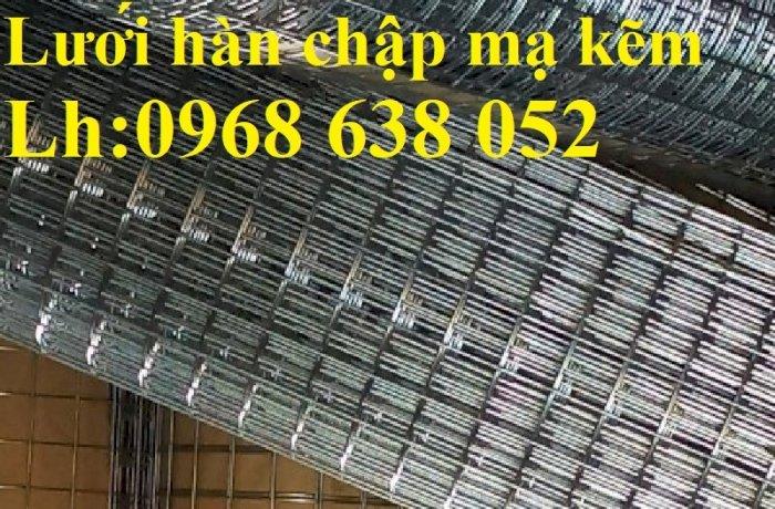 Lưới mạ kẽm hàn ô vuông 50x50 dây 2mm khổ 1mx30m và 1.2mx30m hàng có sẵn7