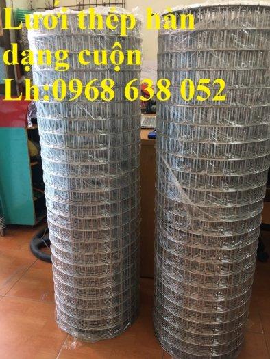 Lưới mạ kẽm hàn ô vuông 50x50 dây 2mm khổ 1mx30m và 1.2mx30m hàng có sẵn4