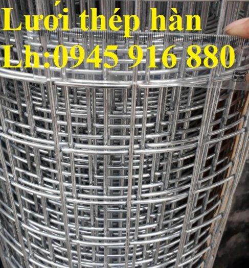 Sản xuất lưới thép hàn mạ kẽm dây 2ly, 2.5ly, 3ly, 4ly  ô lưới 50x50mm dạng tấm, cuộn giá sỉ25