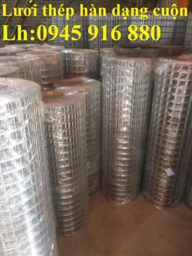 Sản xuất lưới thép hàn mạ kẽm dây 2ly, 2.5ly, 3ly, 4ly  ô lưới 50x50mm dạng tấm, cuộn giá sỉ24