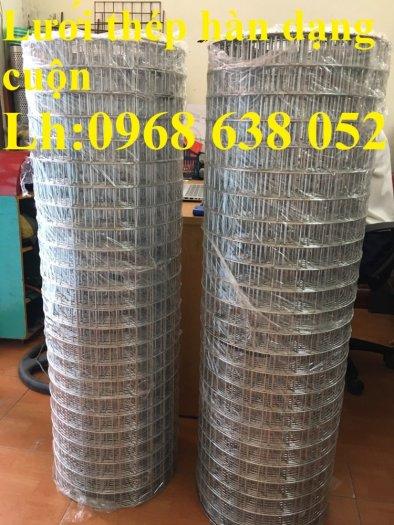 Sản xuất lưới thép hàn mạ kẽm dây 2ly, 2.5ly, 3ly, 4ly  ô lưới 50x50mm dạng tấm, cuộn giá sỉ19