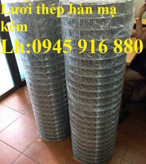Sản xuất lưới thép hàn mạ kẽm dây 2ly, 2.5ly, 3ly, 4ly  ô lưới 50x50mm dạng tấm, cuộn giá sỉ18