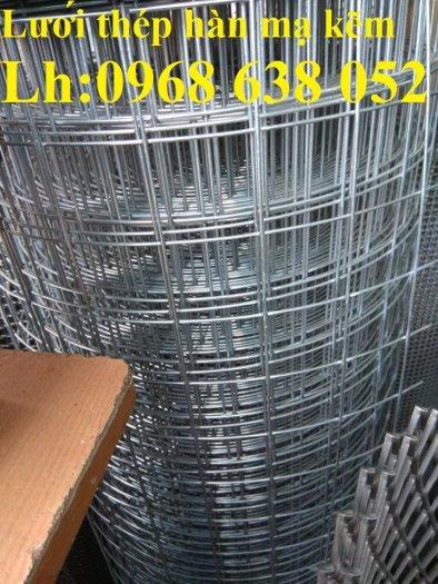 Sản xuất lưới thép hàn mạ kẽm dây 2ly, 2.5ly, 3ly, 4ly  ô lưới 50x50mm dạng tấm, cuộn giá sỉ15