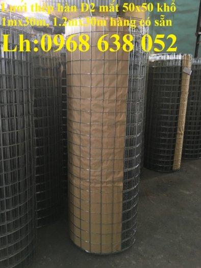 Sản xuất lưới thép hàn mạ kẽm dây 2ly, 2.5ly, 3ly, 4ly  ô lưới 50x50mm dạng tấm, cuộn giá sỉ13