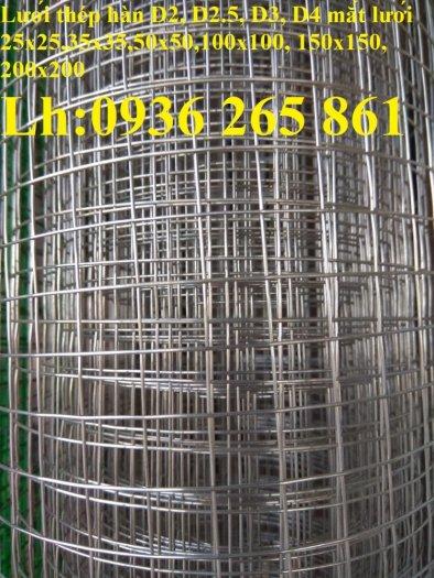 Sản xuất lưới thép hàn mạ kẽm dây 2ly, 2.5ly, 3ly, 4ly  ô lưới 50x50mm dạng tấm, cuộn giá sỉ11