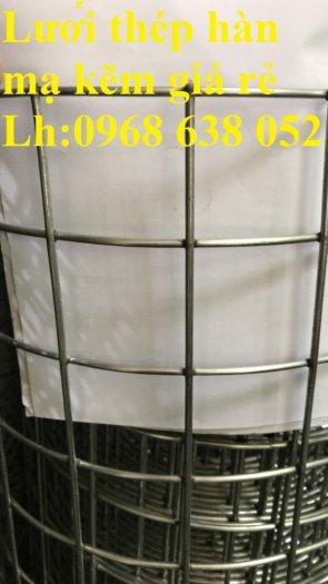 Sản xuất lưới thép hàn mạ kẽm dây 2ly, 2.5ly, 3ly, 4ly  ô lưới 50x50mm dạng tấm, cuộn giá sỉ8