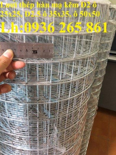 Sản xuất lưới thép hàn mạ kẽm dây 2ly, 2.5ly, 3ly, 4ly  ô lưới 50x50mm dạng tấm, cuộn giá sỉ7