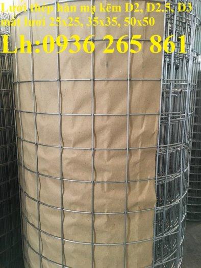 Sản xuất lưới thép hàn mạ kẽm dây 2ly, 2.5ly, 3ly, 4ly  ô lưới 50x50mm dạng tấm, cuộn giá sỉ2