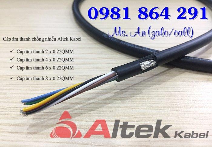 Cáp âm thanh chống nhiễu Altek Kabel giá rẻ sẵn kho HN0