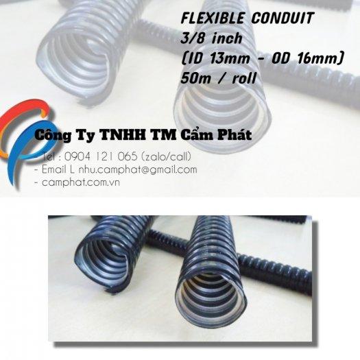 FLEXIBLE CONDUIT 3/8 inch bọc nhưa PVC (D16)6
