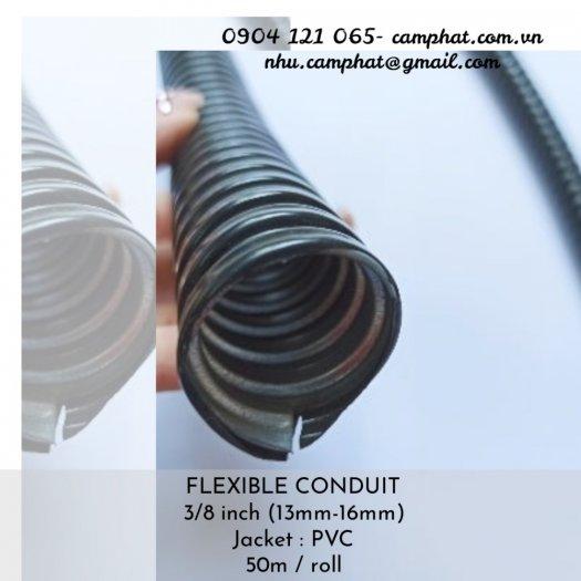 FLEXIBLE CONDUIT 3/8 inch bọc nhưa PVC (D16)3