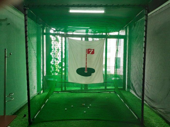 Khung lều tập Golf 2 lớp0