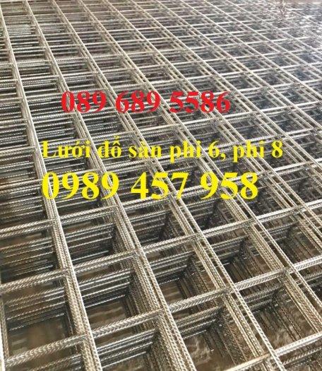 Lưới thép hàn phi 6 200x200,  Lưới thép hàn phi 8 200x200, Thép cuờng độ cao D6 a200x200, D8 200x2006