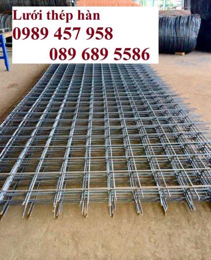 Lưới thép hàn phi 6 200x200,  Lưới thép hàn phi 8 200x200, Thép cuờng độ cao D6 a200x200, D8 200x2000