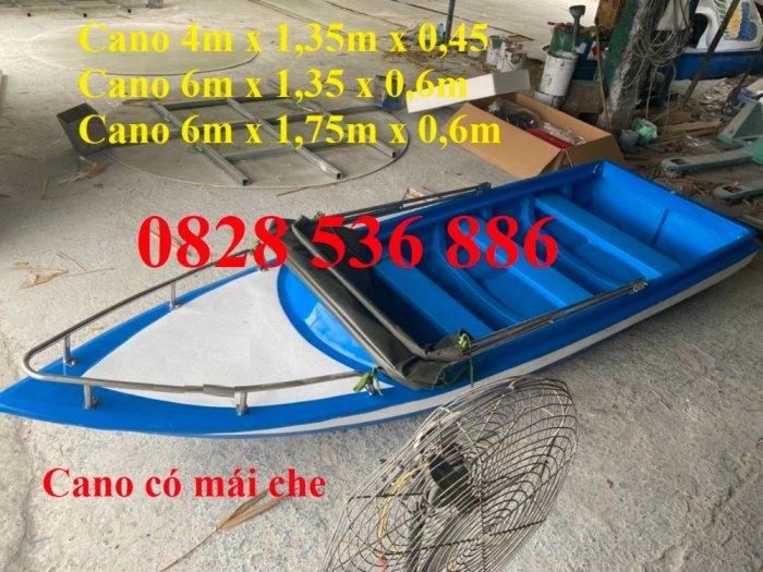 Thuyền chèo tay cho 3 người, Thuyền composite chở 4-5 người, Thuyền cano chở 6 người3