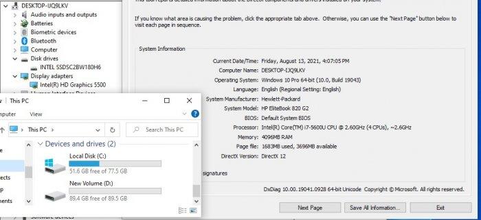 Laptop HP Elitebook 820-G2 Core i7-5600U Ram 4GB SSD 180GB VGA ON Màn Hình 12.5 Inch Máy Vỏ Nhôm0