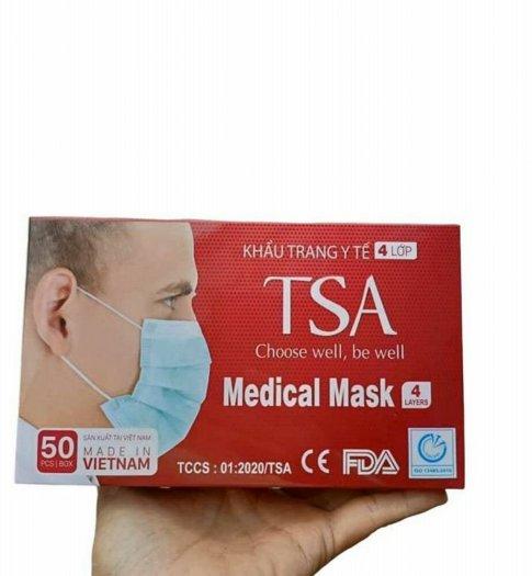 Khẫu trang y tế 4 lớp TSA0