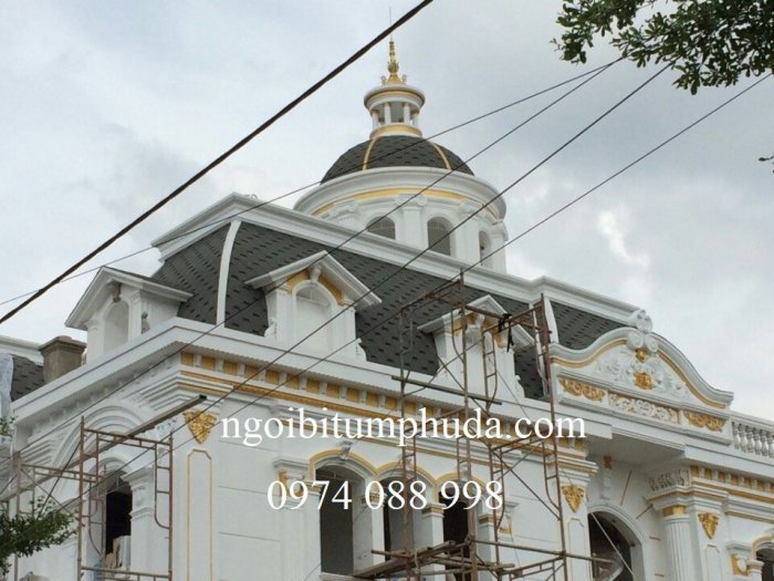 Cung cấp ngói lợp nhà, ngói bitum phủ đá tại Đà Lạt, Khánh Hòa, Huế10