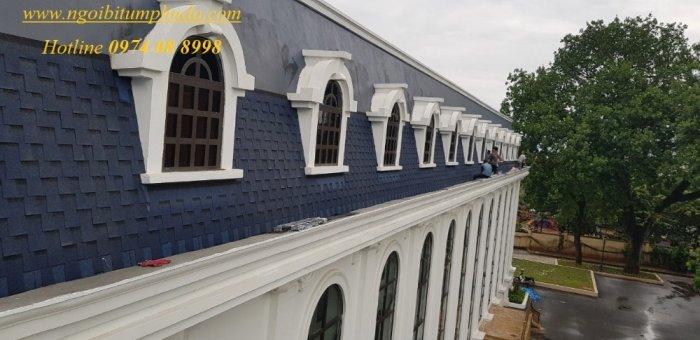 Cung cấp ngói lợp nhà, ngói bitum phủ đá tại Đà Lạt, Khánh Hòa, Huế3