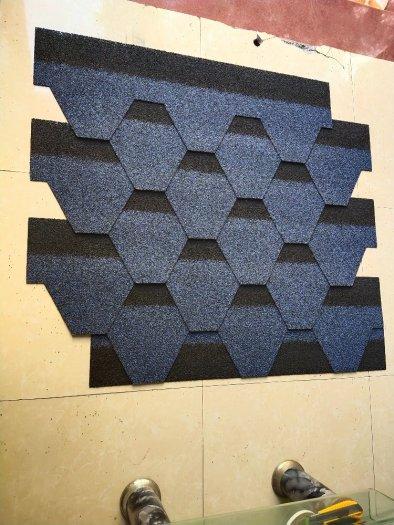 Ngói lợp nhà cao cấp nhập khẩu 3D cho mái, tấm lợp bitum rắc đá màu7