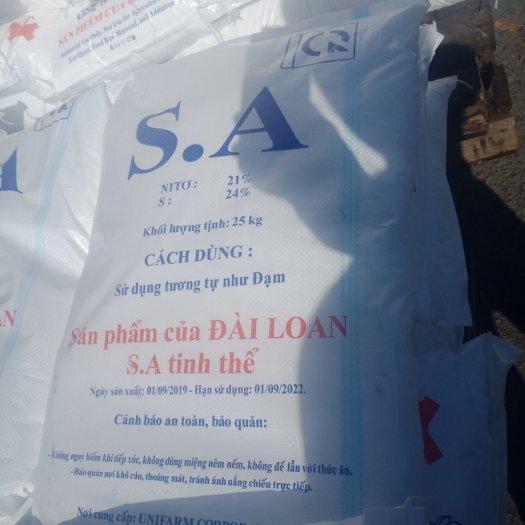 Chuyên cung ứng nguyên liệu sản xuất phân bón SA hạt , SA bột, SA Capro tinh thể2