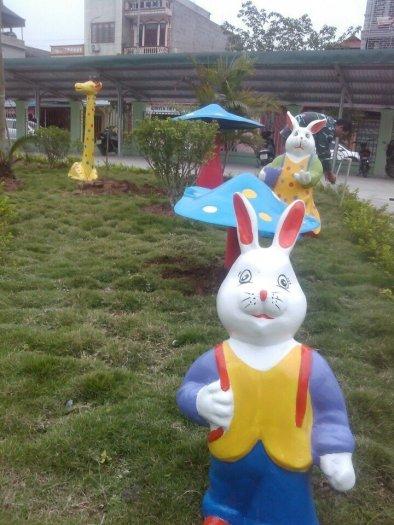 Nhận thi công vườn cổ tích cho trường mầm non, nhà thiếu nhi, công viên, khu vui chơi15