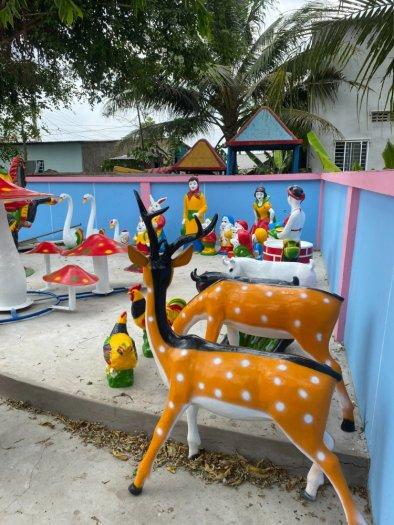 Nhận thi công vườn cổ tích cho trường mầm non, nhà thiếu nhi, công viên, khu vui chơi10