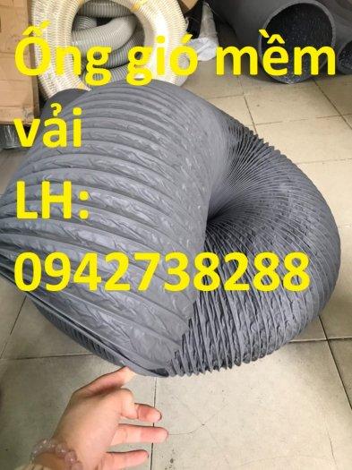 Ống gió mềm vải D200 hàng có sẵn3